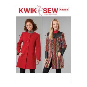 Kwik Sew Sewing Pattern Misses Jacket K4253 One Size