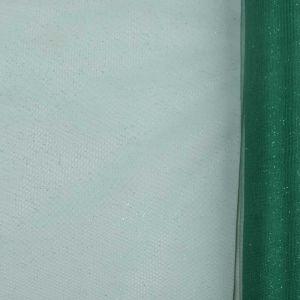Glitter Mesh Fabric Emerald 150cm
