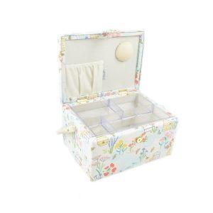 Medium Sewing Box  Sewing Bee Multi 19 x 26 x 14.5cm