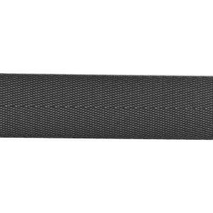 Shiny Herringbone Webbing Dark Grey 30mm