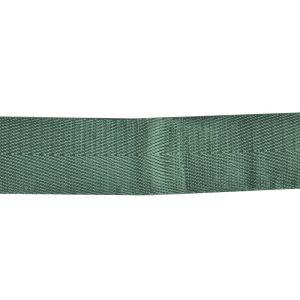 Shiny Herringbone Webbing Green 30mm