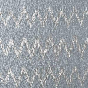 Pleated Zig Zag Fabric Grey Silver 145cm