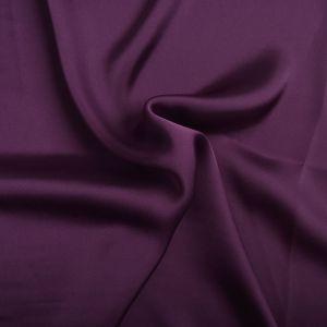 Plain Satin Chiffon Fabric 35 Purple 145cm
