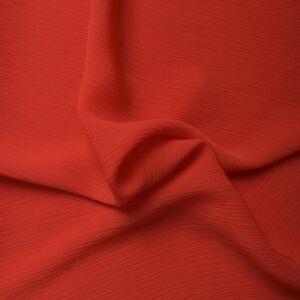 Plain Yoryu Chiffon Fabric 1 Red 145cm