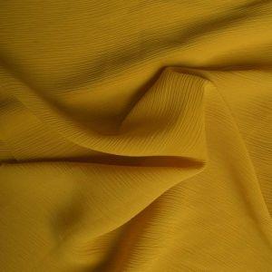 Plain Yoryu Chiffon Fabric 7 Mustard 145cm