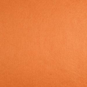 Soft Felt Fabric Orange 90cm