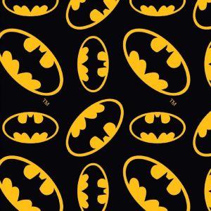 Batman Logo Cotton Fabric Multi 110cm
