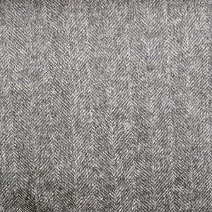Herringbone Melton Wool Blend Fabric 1 Brown 145cm