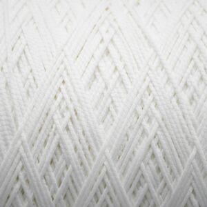 Elasticated Loop Tape White 3mm