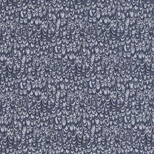 Clarke and Clarke Erebia Curtain Fabric Ink 137cm