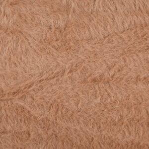 Marton Hair Faux Fur Fabric H Old Rose 150cm