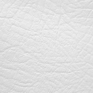 Fire Retardent Vinyl Leatherette Fabric White 140cm