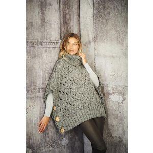 Stylecraft Special XL Tweed Ladies Poncho Pattern  9807 32-34 - 48-50