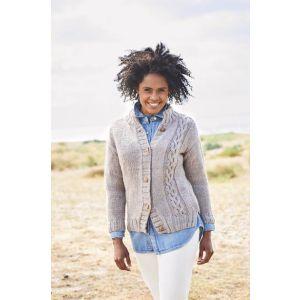 Stylecraft Softie Ladies Cardi and Sweater Pattern  9812 32-34 - 48-50