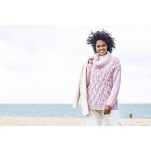 Stylecraft Softie Ladies Jumper and Cardi Pattern  9816 32-34 - 48-50