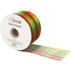 Deco Mesh 272 Metallic Festive Mix 63mm