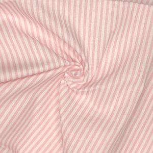 Candy Stripe Digital Print Cotton Fabric Candy Pink 140cm