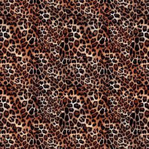 Animal Skin 7 Craft Cotton Fabric Beige 140cm