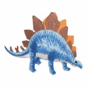 Dinosaur Motif Code C Blue Brown 5.7cm x 7.2cm