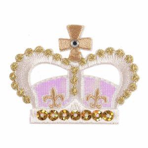 Crown Motif Code C Pink Gold 4.3cm x 5.7cm