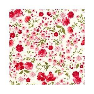 Floral Garden Cotton Poplin Ivory 112cm