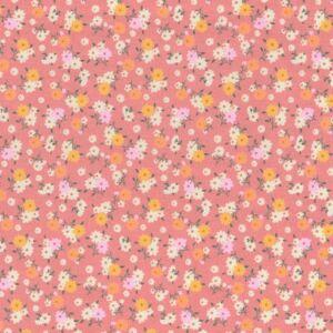 Ditsy Floral Cotton Poplin Rose 112cm