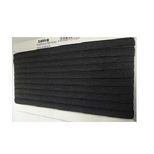 Full Reel Boil Proof 12 Cord Elastic Black 10mm x 50 metres