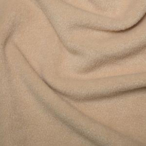 Plain Anti Pil Polar Fleece Fabric Beige 150cm