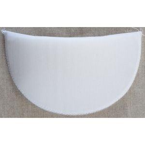 Foam Blouse Shoulder Pads White 13.5 x 8 x 10cm