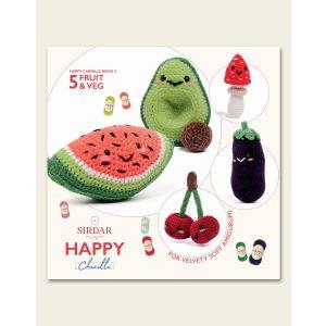 Happy Chenille Fruit and Veg