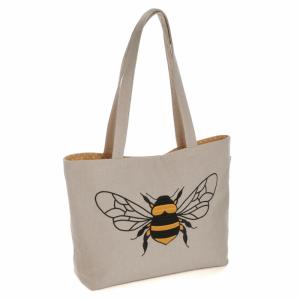 Bee Shoulder Bag Natural 13 x 34 x 27cm