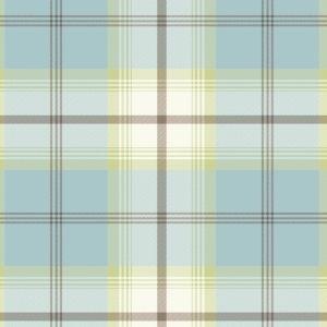 Highland PVC Oilcloth Fabric Duck Egg 132cm