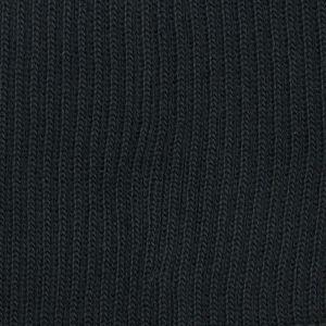 Plain Knitted Border Black 99 L76cm x H7.5cm