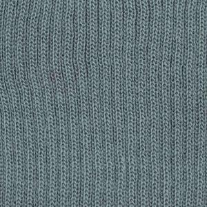 Plain Knitted Border Mid Grey 118 L76cm x H7.5cm