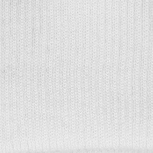 Plain Knitted Border White 01 L76cm x H7.5cm