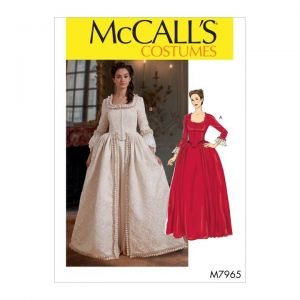 McCalls Sewing Pattern Misses Costume M7965A5 6-14