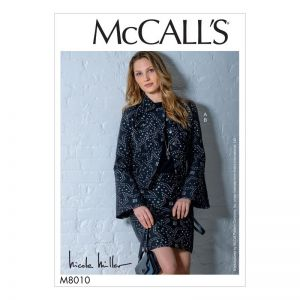 McCalls Sewing Pattern Misses Jacket and Skirt  M8010A5 6-14