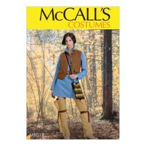 McCalls Sewing Pattern Misses Costume M8018XZ XL-XXL