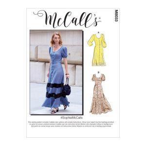 McCalls Sewing Pattern Sophia Misses Dresses M8033E5 14-22