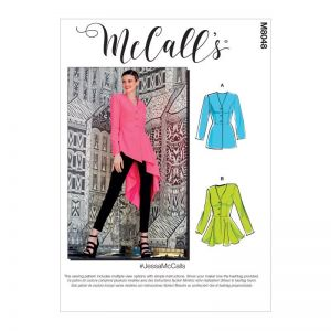 McCalls Sewing Pattern Jessa Misses Jackets M8048E5 14-22