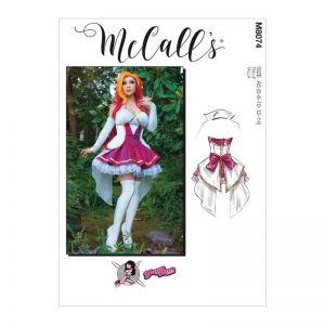McCalls Sewing Pattern Misses Costume M8074A5 6-14