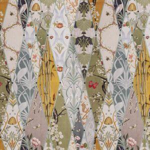 The Chateau By Angel Strawbridge Nouveau Wallpaper Curtain Fabric Multi 140cm