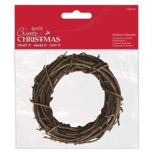 Rattan Wreath 100mm