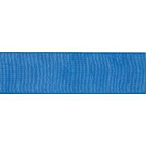 Reel of Organdie Ribbon Code A Royal Blue 6mm x 8m