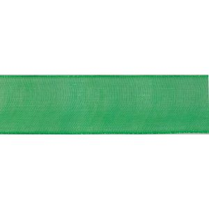 Reel of Organdie Ribbon Code A Australian Green 20mm x 5m