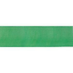 Reel of Organdie Ribbon Code C Australian Green 32mm x 5m