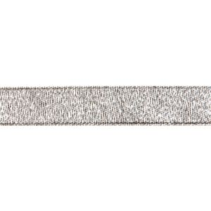 Reel of Metallic Ribbon Code B Silver 7mm x 6m
