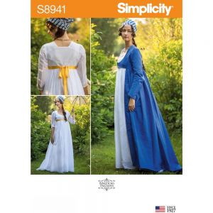 Simplicity Sewing Pattern Misses Costume 8941H5 6-14