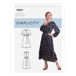 Simplicity Sewing Pattern  Misses' Dress 9041U5 16-24