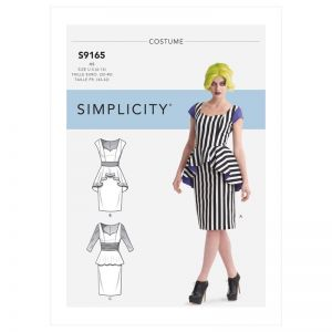 Simplicity Sewing Pattern Misses Costumes Dress SS9165H5 6-14